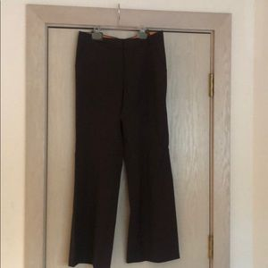 Tory Burch Brown Wool Pant